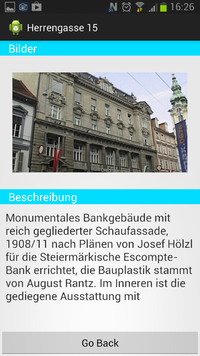 Android-Version der Grazwiki-App
